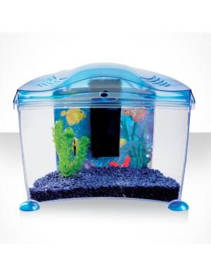 Askoll acquario goldfish in plastica per pesci rossi 6 7lt for Acquario per pesci rossi usato