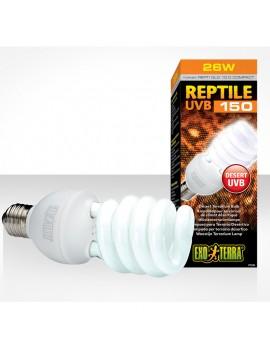 EXOTERRA LAMPADA RETTILI UVB REPTI GLO COMPACT 26WATT 10.0 ATTACCO E27