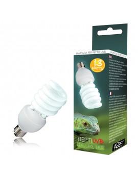 AQPET LAMPADA UVB UVA 5.0 5% REPTI UVB GLO COMPACT LAMPADA PER RETTILI TERRARIO 13WATT