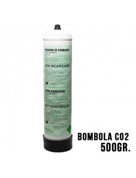 BOMBOLA ANIDRIDE CARBONICA CO2 500 gr USA E GETTA PER ACQUARIO COMPATIBILE ASKOLL RUWAL AQUILI 10X1
