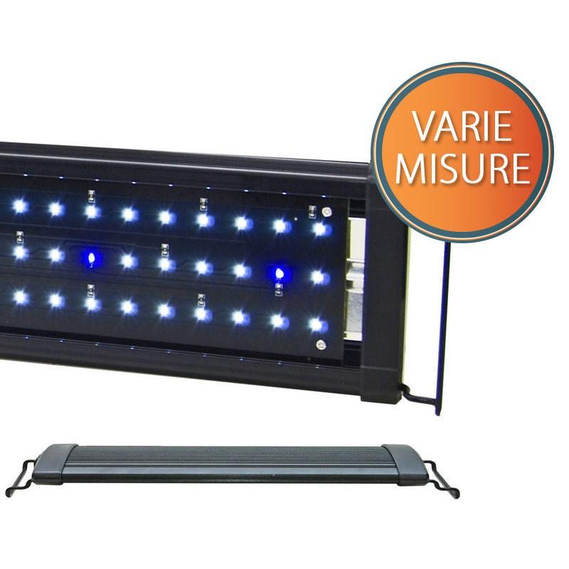 Lampada led acquario luce bianca blu lunare pesci piante for Luce led blu