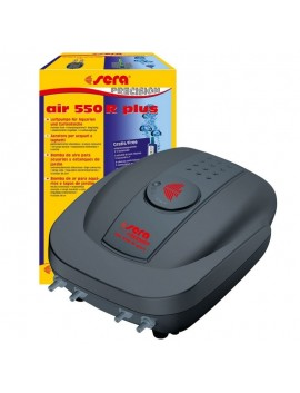 SERA AIR PLUS 550R 8WATT 4 USCITE AREATORE PER ACQUARIO