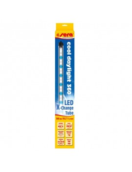Sera led x change tube daylight cool illuminazione a led for Illuminazione acquario dolce