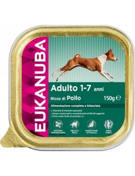 EUKANUBA DOG CIBO UMIDO PER CANE RICCO DI POLLO PER CANI ADULTI DI TUTTE LE TAGLIE (1-7ANNI) 150 GR.