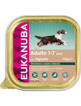 EUKANUBA DOG CIBO UMIDO PER CANE GUSTO AGNELLO PER CANI ADULTI DI TUTTE LE TAGLIE (1-7ANNI) 150 GR.