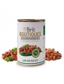 BRIT BOUTIQUES LAMB TRUE MEAT BITS CIBO UMIDO 400 GR.
