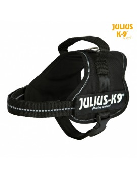 TRIXIE PETTORINA POWER JULIUS-K9® NYLON RESISTENTE COLORE NERO VARIE MISURE