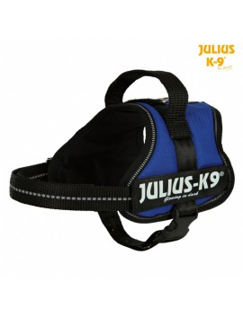 TRIXIE PETTORINA POWER JULIUS-K9® NYLON RESISTENTE COLORE BLU AVIO VARIE MISURE