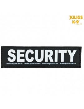 TRIXIE ETICHETTA JULIUS-K9 CON VELCRO SCRITTA SECURITY