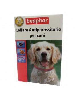 BEAPHAR COLLARE ANTIPARASSITSARIO ROSSO 65 CM PER CANE DURATA 4 MESI
