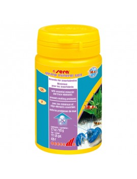 SERA SHRIMP MINERAL SALT 105 GR