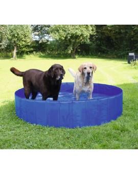 Piscina per cani pieghevole da giardino vasca per animali for Animali da giardino finti