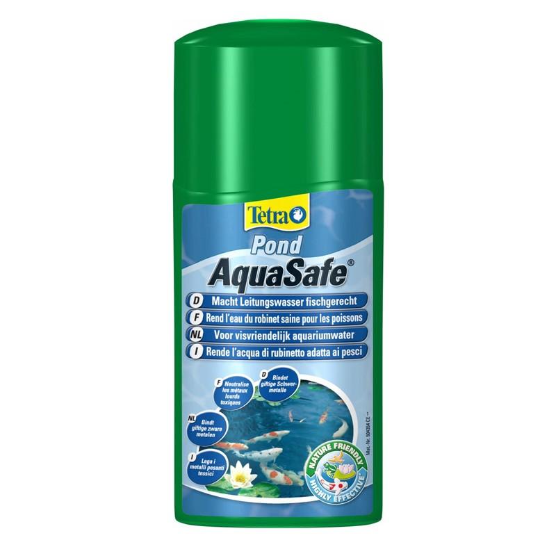 Tetra pond aquasafe biocondizionatore per laghetti 250 ml for Articoli per laghetti